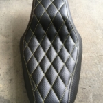 Tapiterie moto carbon fiber