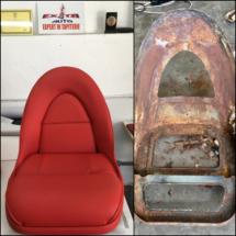 scaun piele Jaguar
