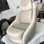 scaun barca bej custom