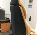 tapiterie piele bmw scaun